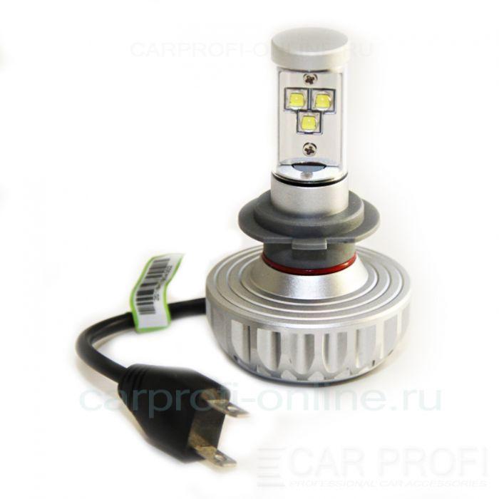 Светодиодные лампы CarProfi 3S H7 Radiator series (multicolor)