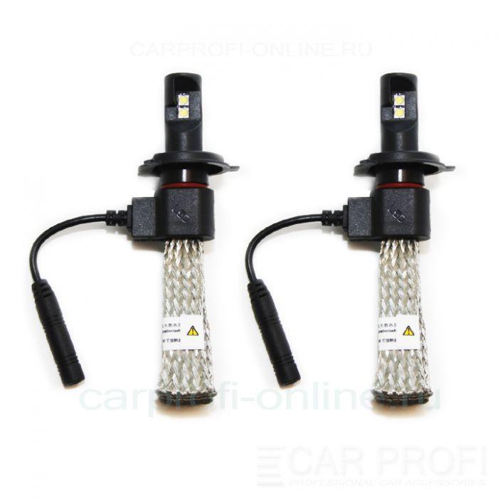 Светодиодные лампы CarProfi 5GC H4 Hi/Low flexible series, CREE 5G (5500К)