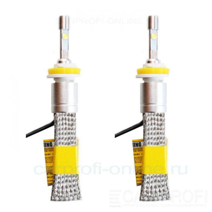 Светодиодные лампы CarProfi R3 H11 flexible cree-xhp50 premium series, (5500К)