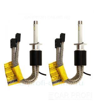 Светодиодные лампы CarProfi R4 H1 Flexible Z ES (TX chip), black premium series, (4800К)