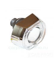 """Би-ксеноновые линзы CarProfi Cannon Q5, D2S, """"Ангельские глазки"""" CREE, 3.0"""" (Koito lens) комплект 2шт."""
