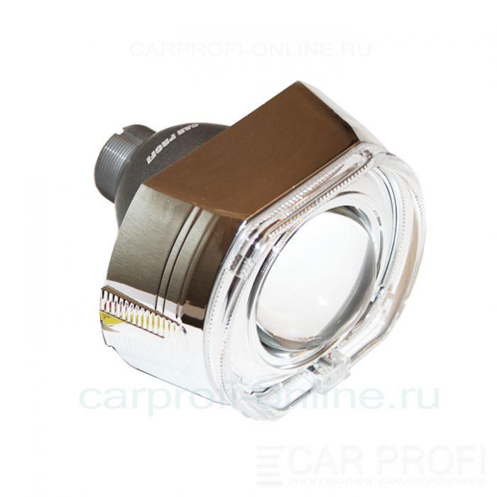 Би-ксеноновые линзы CarProfi Cannon Q5, D2S, 3.0 дюйма, АГ CREE (комплект 2 шт.)