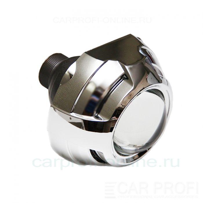 """Би-ксеноновые линзы CarProfi Shatl Q5, D2S, """"Type B"""", 3.0"""" (Koito lens, маска без АГ) комплект 2шт."""