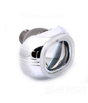 """Биксеноновые линзы CarProfi Condor Q5, D2S """"Ангельские глазки"""" CCFL 3.0""""(Koito lens) комплект 2шт."""