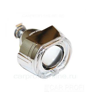 Би-ксеноновые линзы CarProfi Сannon H1, 2.5 дюйма, АГ CREE (комплект 2 шт.)