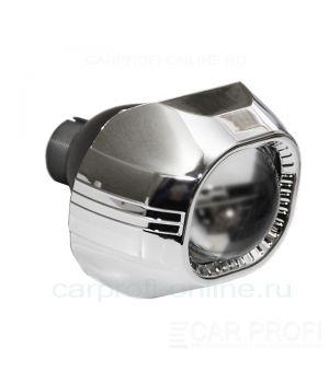 """Биксеноновые линзы CarProfi Сyclone Q5, D2S, 3.0"""" (Koito lens, маска квадратная без АГ) комплект 2шт."""