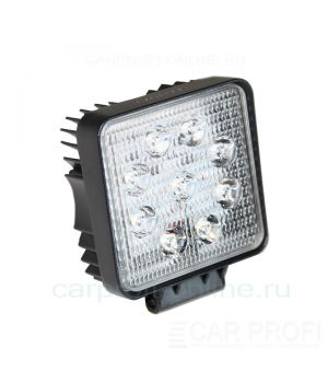 CarProfi New Light CP-27 Spot E09, светодиодная фара 27W, Epistar, дальний свет