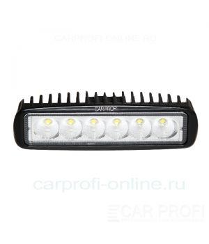 CarProfi New Light CP-18 Flood E06 FAT, светодиодная фара 18W, Epistar, рабочий свет