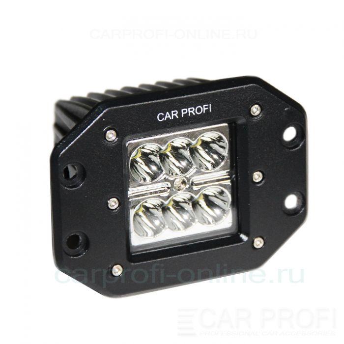 Светодиодная фара CarProfi CP-BL-24 Spot C06, 24W, CREE, дальний свет