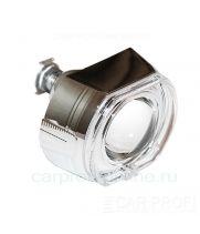 """Би-ксеноновые линзы CarProfi Cannon H1, 3.0"""", """"Ангельские глазки"""" CREE (Morimoto lens) комплект 2шт."""