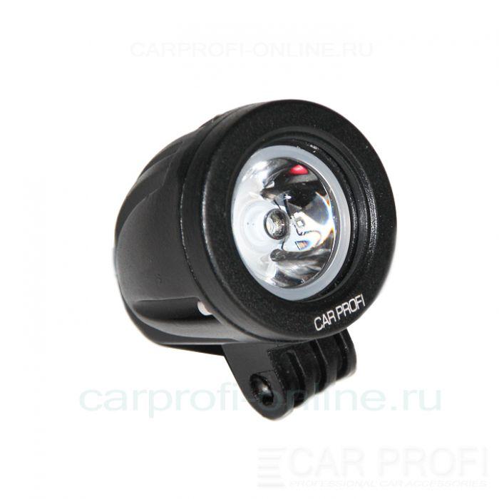Светодиодная фара CarProfi CP - 10R Spot, 10W, CREE, дальний свет