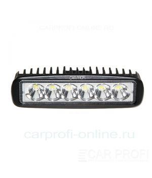 CarProfi New Light CP-18 Spot E06, светодиодная фара 18W, Epistar, дальний свет