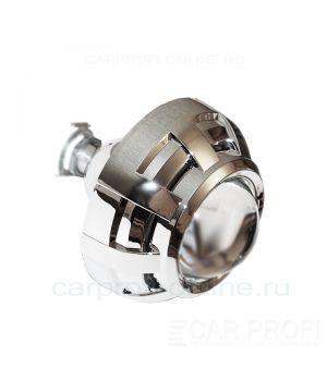 """Би-ксеноновые линзы CarProfi Stels H1, 3.0 """"Type C"""" (Morimoto) комплект 2шт."""