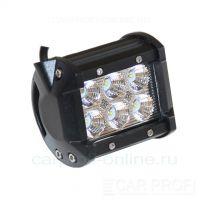CarProfi LED Light bar CP-18 Flood C06, светодиодная балка 18W, CREE, ближний свет