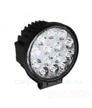 CarProfi New Light CP-42R Flood E14, светодиодная фара 42W, Epistar, ближний свет