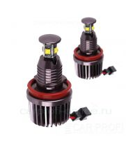 Светодиодные LED маркер для BMW CarProfi CP-BMW-H8-40W (80W) CAN BUS CREE XT-E*4/8LED