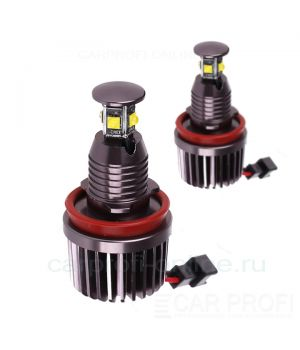 Светодиодные LED маркер для BMW CarProfi CP-BMW-H8-40W CAN BUS CREE XT-E*4LED