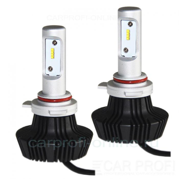 Светодиодные лампы CarProfi G7 HIR2 9012 Luxeon ZES 4000Lm (комплект, 2шт)