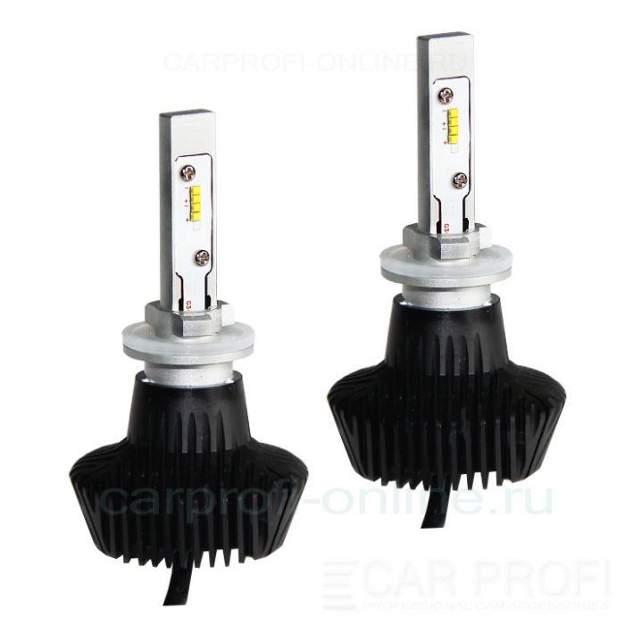 Светодиодные лампы CarProfi G7 H27 Luxeon ZES 4000Lm (комплект, 2шт)