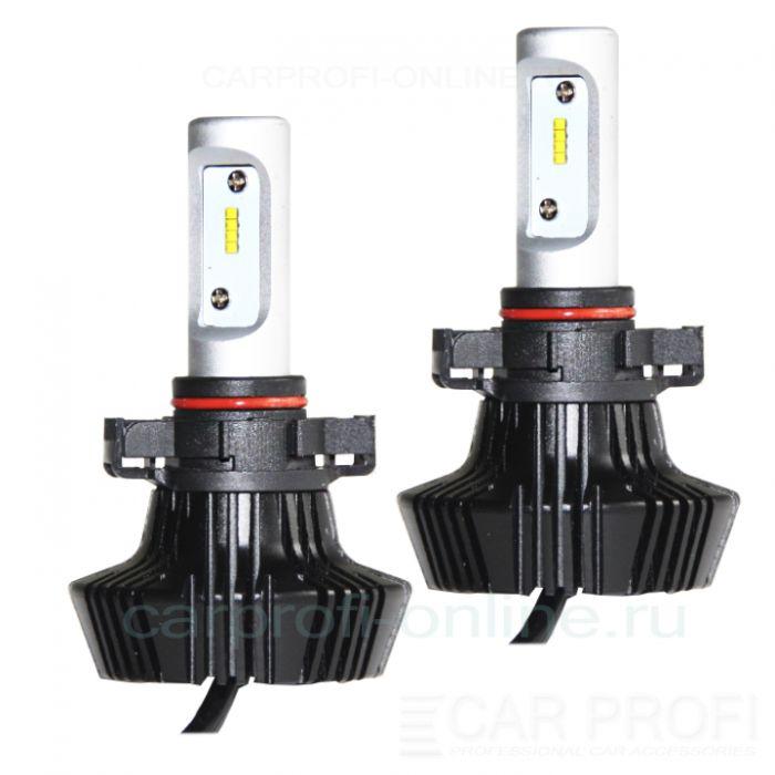 Светодиодные лампы CarProfi G7 PSX24 Luxeon ZES 4000Lm (комплект, 2шт)
