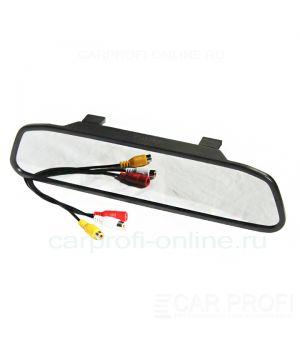 "Зеркало заднего вида CarProfi HX-4307 со встроенным монитором 4,3"" дюйма"