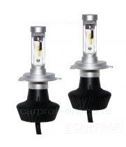 Светодиодные лампы CarProfi G7 H4 Hi/Low Luxeon ZES 4000Lm (комплект, 2шт)