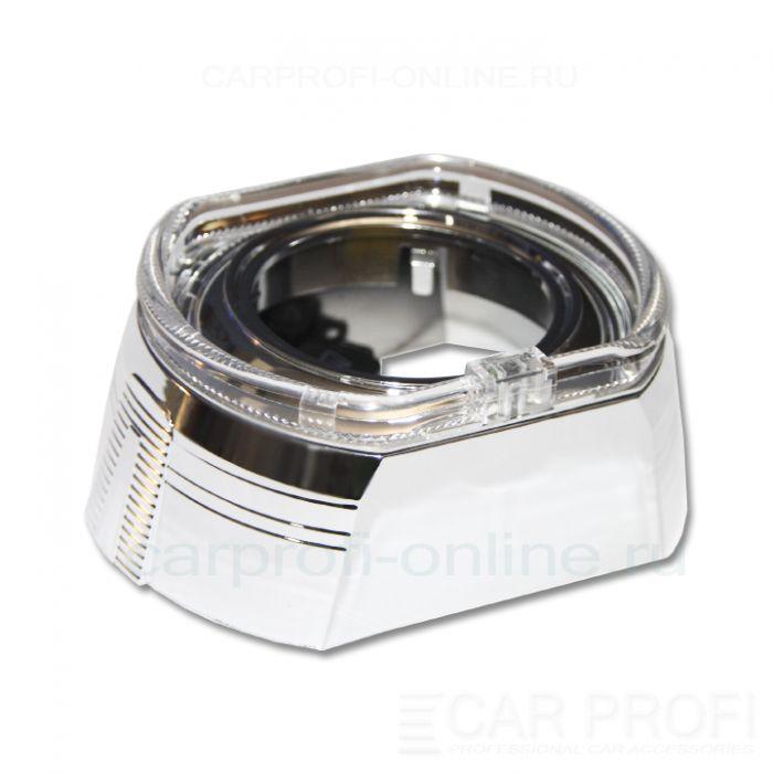 "Маска для би-линзы CarProfi СANNON 3.0"" (GD136-F3) АГ CREE, комплект 2шт"