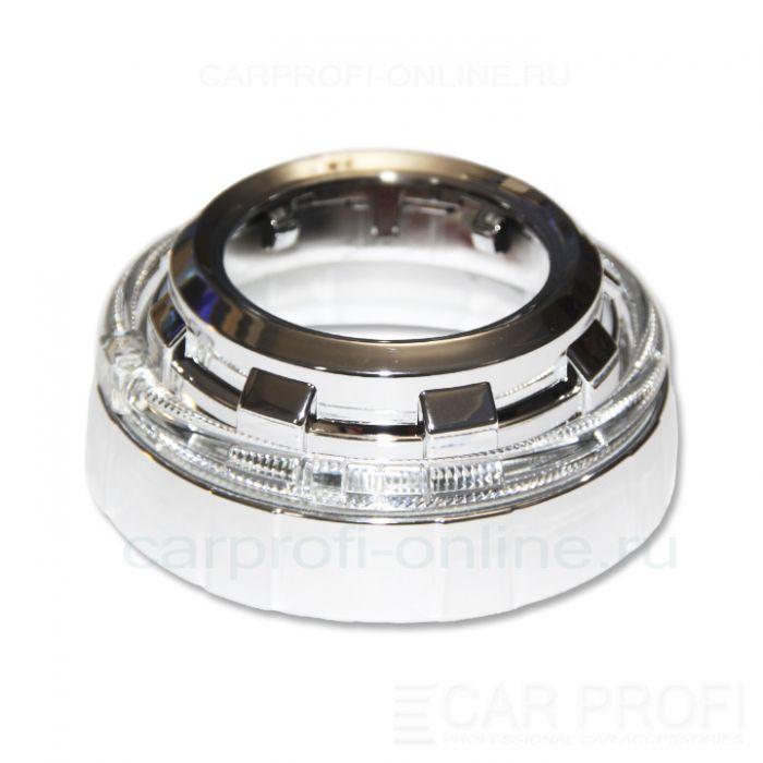 """Маска для би-линзы CarProfi ANLIM 3.0"""" (Z101) АГ CREE, комплект 2шт"""