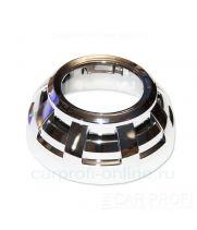 "Маска для би-линзы CarProfi STELS 3.0"" (Z112), комплект 2шт"