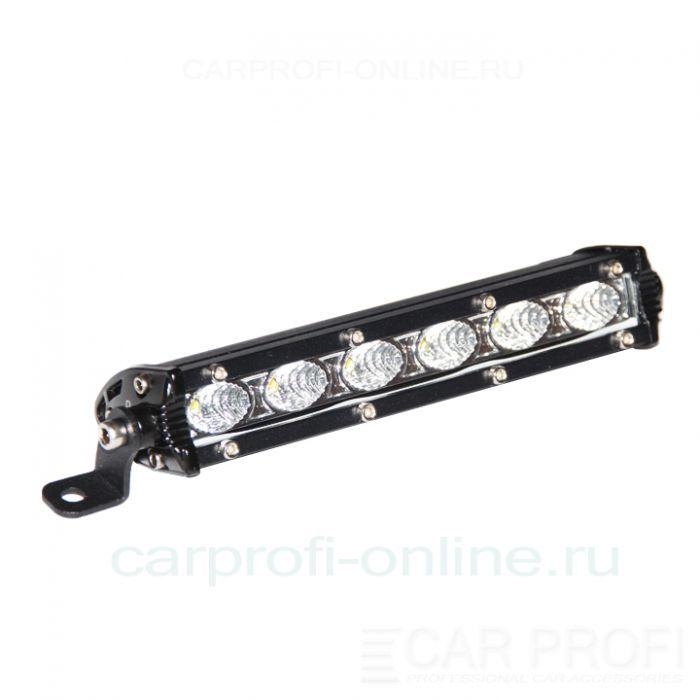 Светодиодная балка CarProfi CP-SL-18 Flood C06 Slim light, 18W, CREE, ближний свет