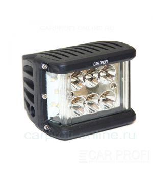 Светодиодная фара CarProfi Ultra light CP-60UL Spot C12, 60W, CREE, дальний свет с боковой засветкой