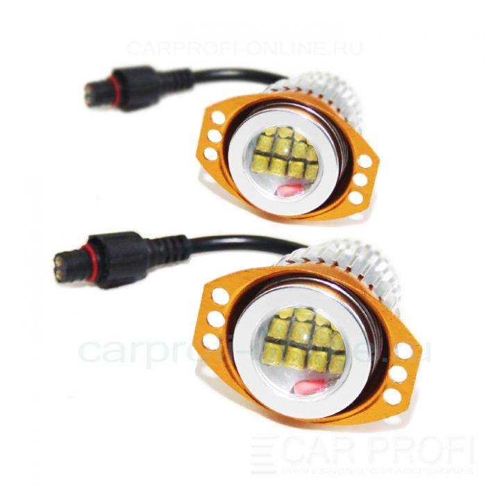 Led маркер CarProfi CP-BMW-E90-120W CAN BUS CREE XT-E*12LED для ангельских глазок BMW
