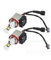 Led маркер CarProfi CP-BMW-H8-80W With Fan CAN BUS CREE XT-E 8LED для ангельских глазок BMW