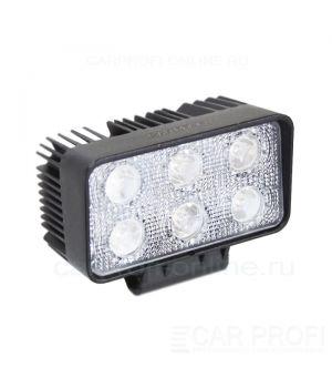 CarProfi New Light CP-18SW Spot E06, светодиодная фара 18W, Epistar, дальний свет
