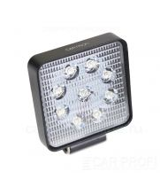 CarProfi New Light CP-27 Flood E09 SLIM, светодиодная фара 27W, Epistar, ближний свет