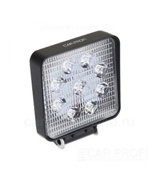 CarProfi New Light CP-27 Spot E09 SLIM, светодиодная фара 27W, Epistar, дальний свет