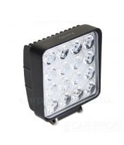 CarProfi New Light CP-48 Spot E16 SLIM, светодиодная фара 48W, Epistar, дальний свет