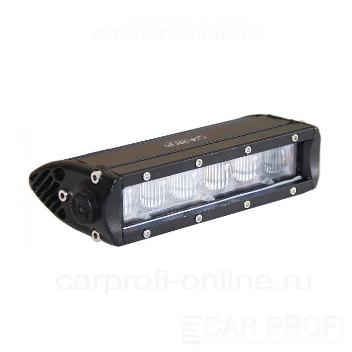Светодиодная балка CarProfi CP-5W-SL-30 Flood Slim light, 30W, CREE, линзы, ближний свет