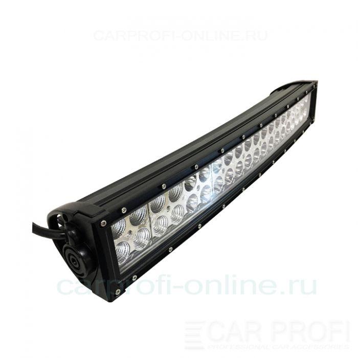 Светодиодная балка CarProfi CP-Curved 120 Combo E40, 120W, Epistar, ближний-дальний свет