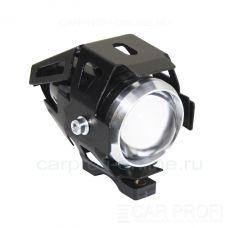 Светодиодная мото линза CarProfi CP - M10 moto, 10W CREE, 2 режима ДХО + Стробоскоп (1шт)