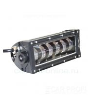 CarProfi LED Light bar CP-HL-48 HI/LOW C12, линзованная светодиодная балка 48W, CREE (ближний-дальний свет)