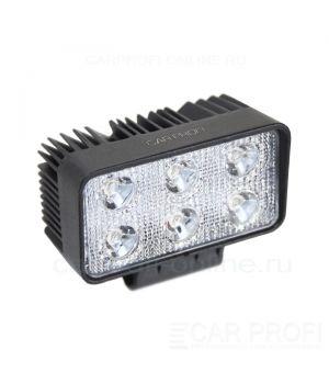 CarProfi New Light CP-18SW Flood E06, светодиодная фара 18W, Epistar, ближний свет