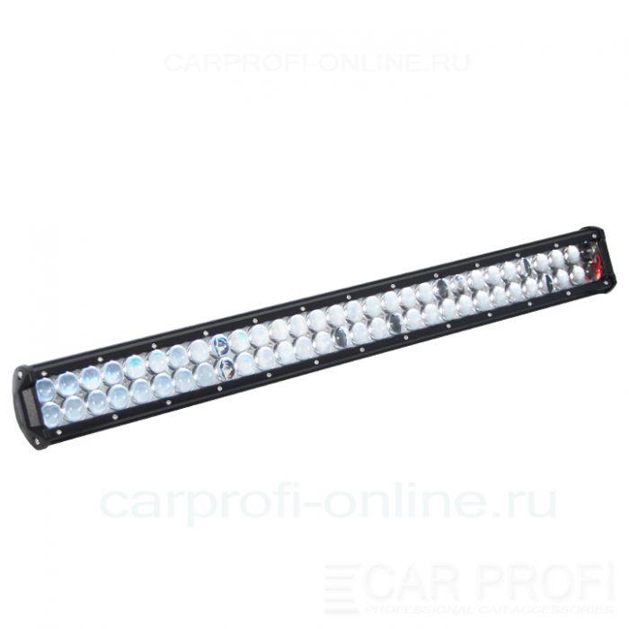 Светодиодная балка CarProfi CP-4DS-180 Spot, 180W, CREE, два ряда, линзы, дальний свет