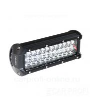 CarProfi LED Light bar CP-3R-108 Flood, светодиодная балка 108W, SMD 3030, ближний свет