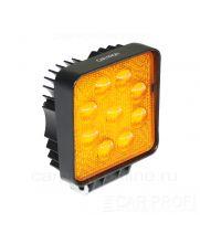Светодиодная фара CarProfi CP-GDN-27 Flood Yellow, 3800k, 27W, Epistar, ближний свет