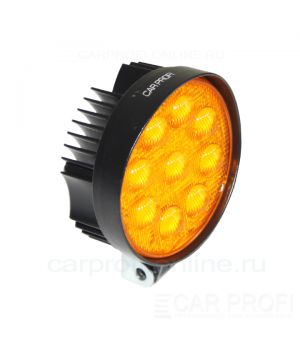Светодиодная фара CarProfi CP-GDN-27R Flood Yellow, 3800k, 27W, Epistar, ближний свет