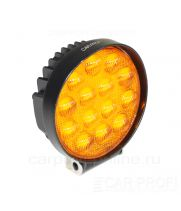 CarProfi New Light CP-GDN-42R Flood Yellow, 3800k, светодиодная фара 42W, Epistar, ближний свет