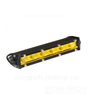 Светодиодная балка CarProfi LED Light bar CP-SL-GDN-18 Flood, Yellow, Slim light, 18W, CREE, ближний свет