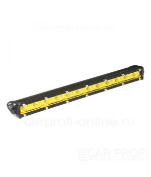 Светодиодная балка CarProfi CP-SL-GDN-36 Flood, Yellow, Slim light, 36W, CREE, ближний свет