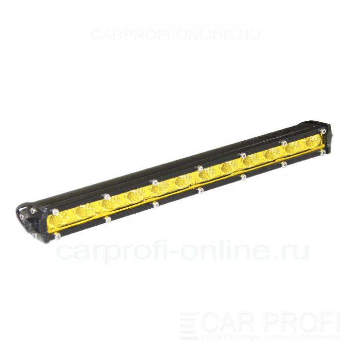 Светодиодная балка CarProfi CP-SL-GDN-36 Flood, Yellow, Slim light, 36W, CREE, ближний свет